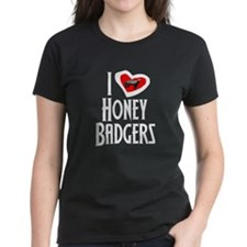 I Love Honey Badgers Tee