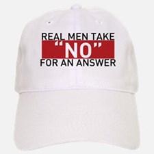 Real Men Baseball Baseball Cap