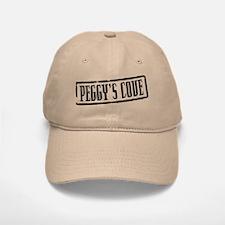 Peggy's Cove Title Baseball Baseball Cap