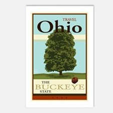 Travel Ohio Postcards (Package of 8)