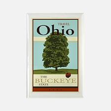 Travel Ohio Rectangle Magnet