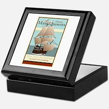 Travel Massachusetts Keepsake Box