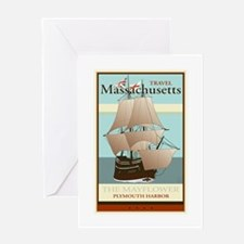 Travel Massachusetts Greeting Card