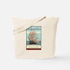 Travel Massachusetts Tote Bag