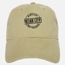 Ocean City Title Baseball Baseball Cap