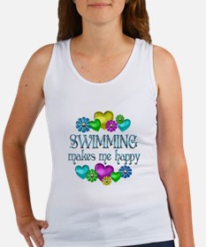 Swimming Happiness Women's Tank Top