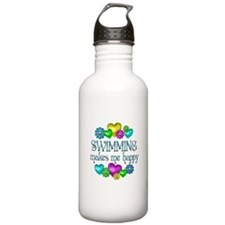 Swimming Happiness Water Bottle