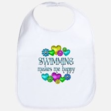 Swimming Happiness Bib