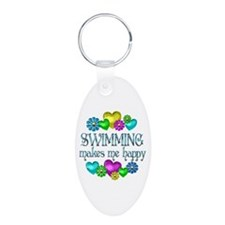 Swimming Happiness Keychains