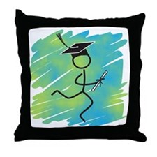 Graduate Runner Throw Pillow