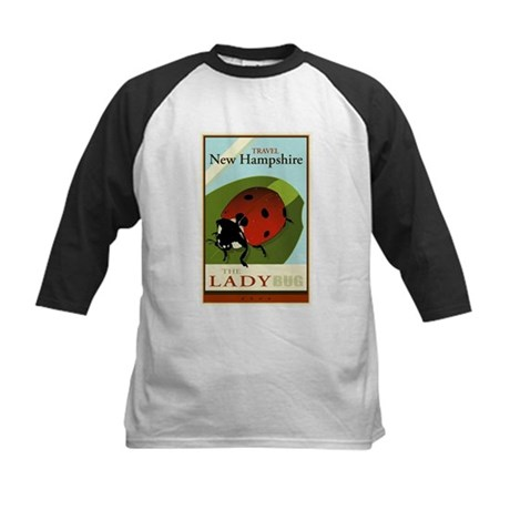 Travel New Hampshire Kids Baseball Jersey