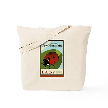 Travel New Hampshire Tote Bag