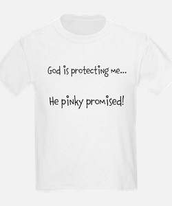 God is protecting me... He pi T-Shirt