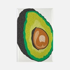 Avocado Rectangle Magnet