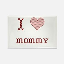 I [Heart] Mommy Rectangle Magnet (10 pack)