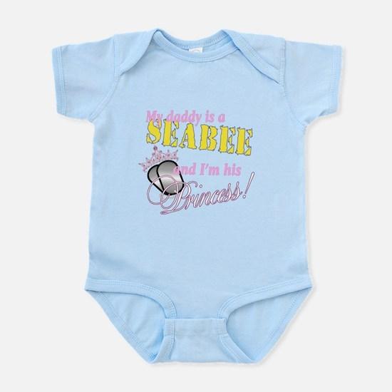 Seabee's Princess Infant Bodysuit