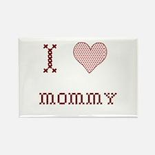 I [Heart] Mommy Rectangle Magnet
