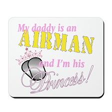 Airman's Princess Mousepad
