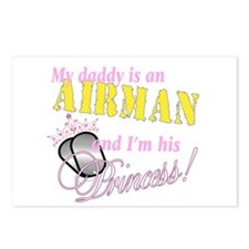 Airman's Princess Postcards (Package of 8)