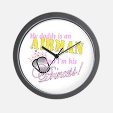 Airman's Princess Wall Clock