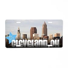 Unique Cleveland ohio Aluminum License Plate