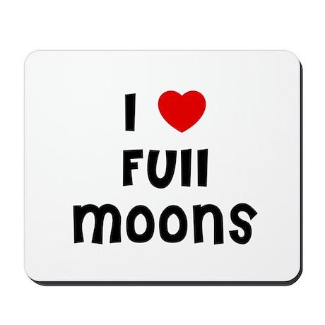 I * Full Moons Mousepad