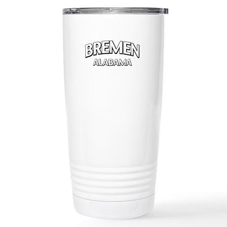 Bremen Alabama Stainless Steel Travel Mug
