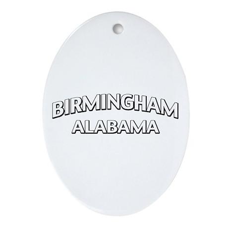 Birmingham Alabama Ornament (Oval)