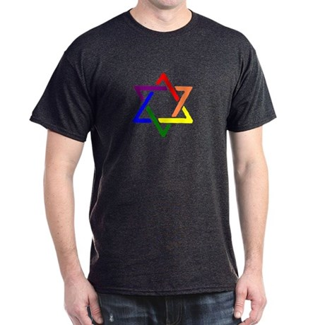 Rainbow Star of David T-Shirt