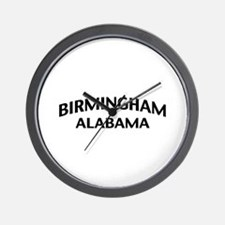Birmingham Alabama Wall Clock