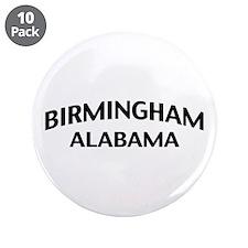 "Birmingham Alabama 3.5"" Button (10 pack)"