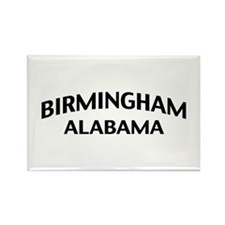 Birmingham Alabama Rectangle Magnet