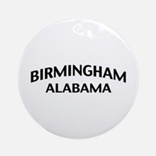 Birmingham Alabama Ornament (Round)