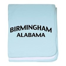 Birmingham Alabama baby blanket