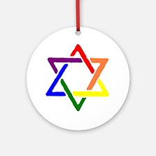 Queer Jews Ornament (Round)