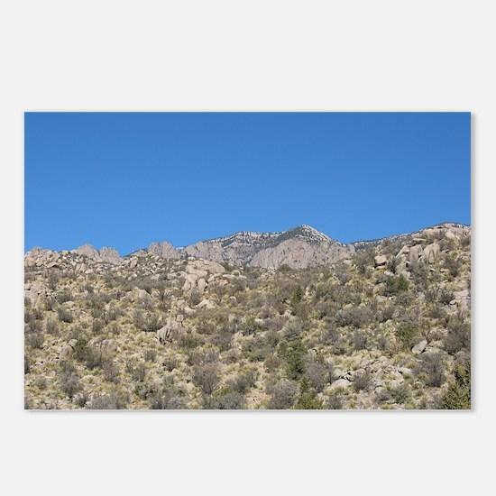 Desert Hill 2 Postcards (Package of 8)