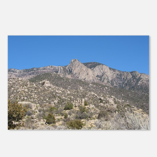 Desert Mountain 5 Postcards (Package of 8)