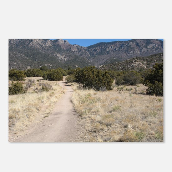 Desert Path 1 Postcards (Package of 8)