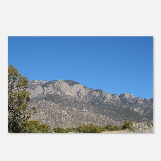 Desert Mountain 1 Postcards (Package of 8)