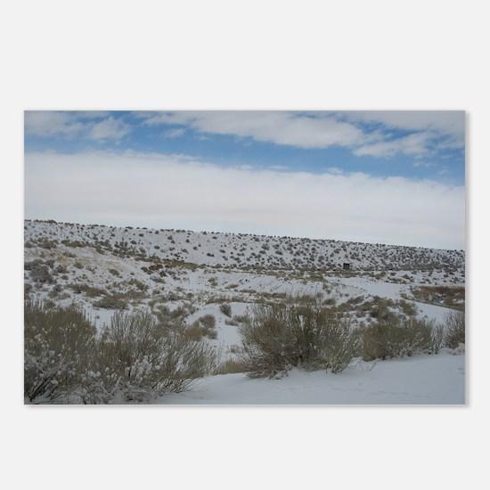 Desert Snow Postcards (Package of 8)