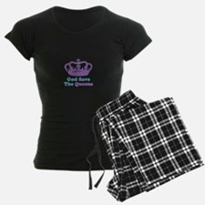 god save the queens (purple/t Pajamas
