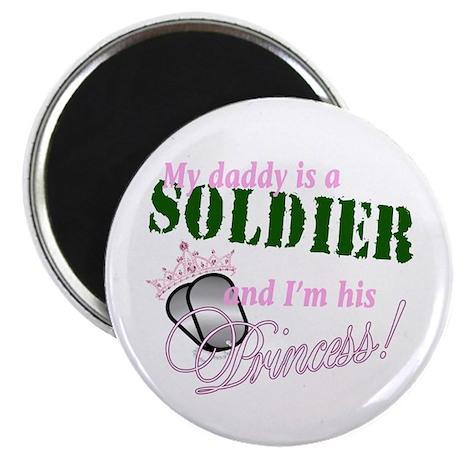 "Soldier's Princess 2.25"" Magnet (100 pack)"