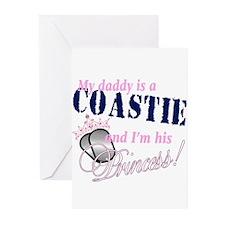Coastie's Princess Greeting Cards (Pk of 10)