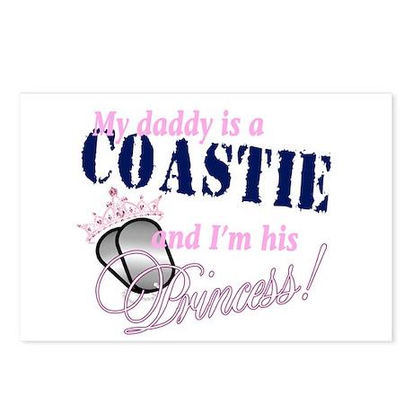 Coastie's Princess Postcards (Package of 8)