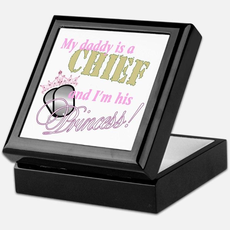 Chief's Princess Keepsake Box