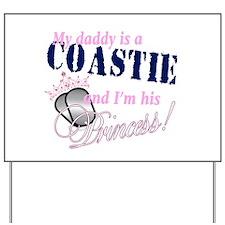 Coastie's Princess Yard Sign