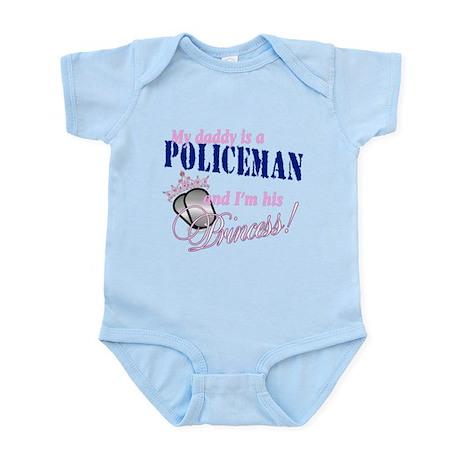 Policeman's Princess Infant Bodysuit