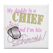 Chief's Princess Tile Coaster