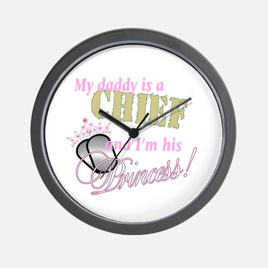 Chief's Princess Wall Clock