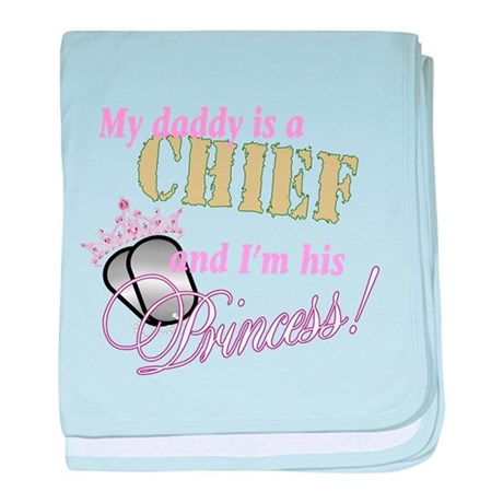 Chief's Princess baby blanket